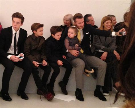 The Beckhams Are by The Beckham Family Visit New York Fashion Week Alexandalexa