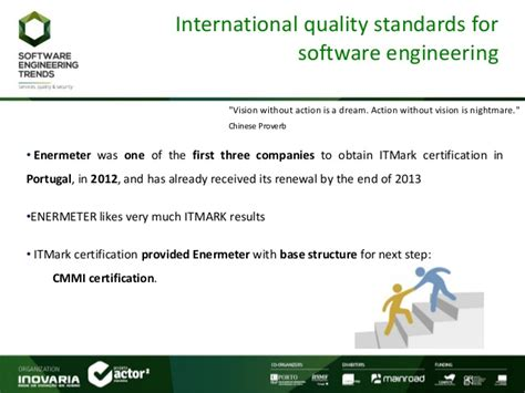 Mba Courses Useful For Software Engineers by Software Engineering Trends Enermeter Itmark And Cmmi Use