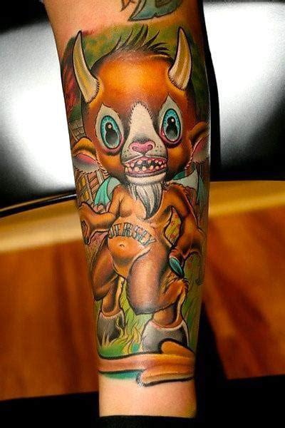 new school devil tattoo cute new school devil tattoo idea