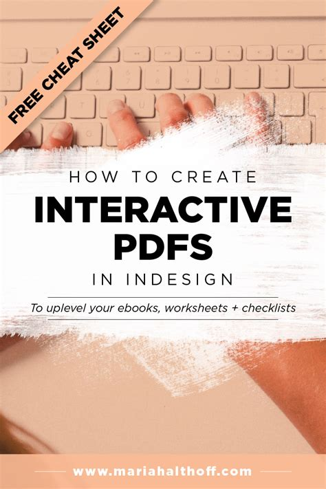 Indesign Creating Interactive Pdf | how i design graphics for my blog mariah althoff visual