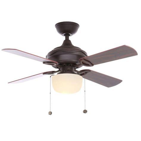 bay ceiling fan hton bay rubbed bronze indoor ceiling fan