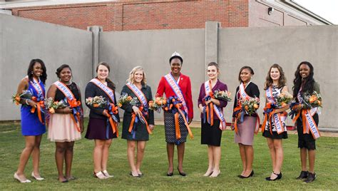 Barron County Court Records 2016 Charles Henderson Homecoming Court The Troy Messenger