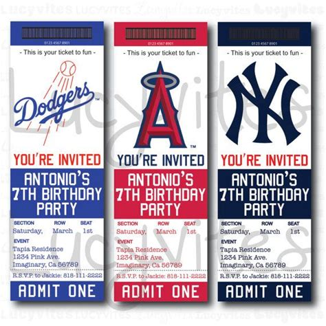 free printable baseball ticket template baseball team ticket invitation baseball baby shower