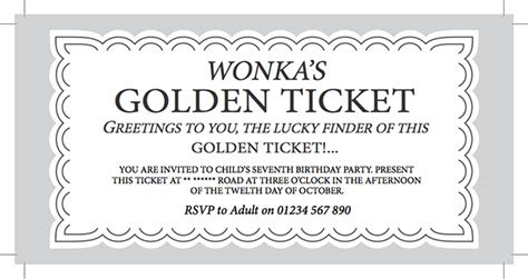 willy wonka chocolate bar party invite james forward design