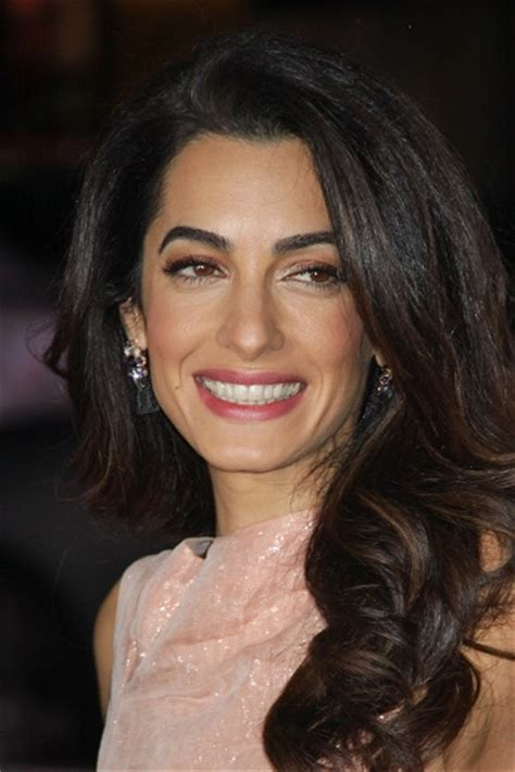 is amal clooney hair one length events our brand is crisis los angeles premiere
