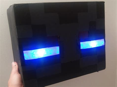 How To Make Light In Minecraft Guy In Minecraft Enderman Costume Will Steal Your Blocks