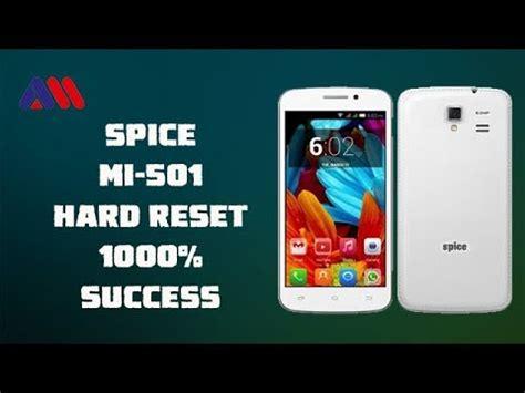 spice mobile pattern unlock software spice mi 501 hard reset pattern unlock 100 success
