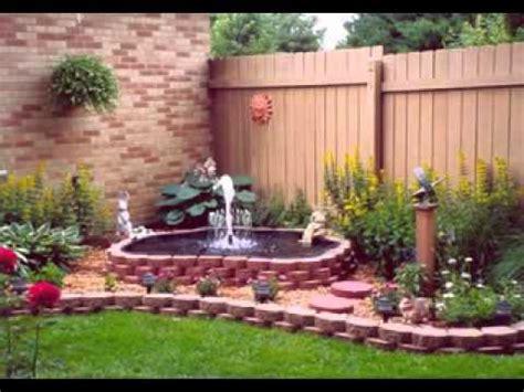 small  garden ideas youtube