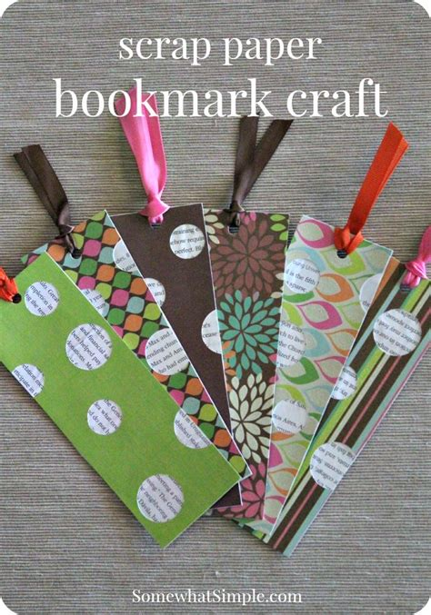 Creative Craft Ideas With Paper - best 25 bookmark craft ideas on bookmarks for