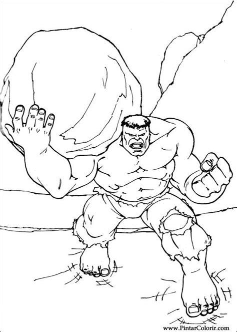 dibujos para pintar hulk dibujos para pintar y colorear hulk dise 241 o de impresi 243 n 081