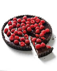 Chocolate Raspberry Tart | chocolate raspberry tart recipe martha stewart