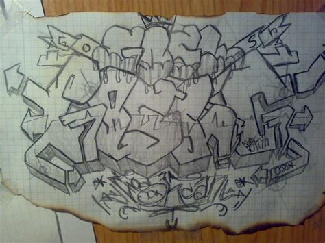 imagenes a lapiz de graffitis dibujos de graffitis lapiz imagui
