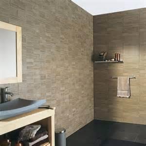 lambris pvc element s taupe castorama salle de bain