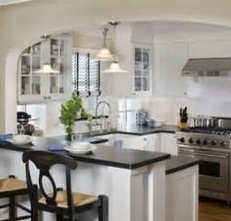 Small Open Kitchen Design Small Kitchen Remodeling Ideas On A Budget Like The Arch To Provide Some Separation Don T Want A