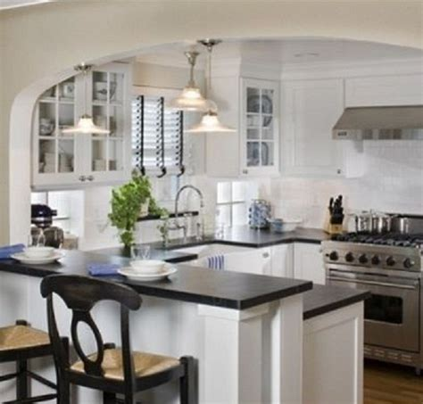 Small Open Kitchen Ideas | small kitchen remodeling ideas on a budget like the arch