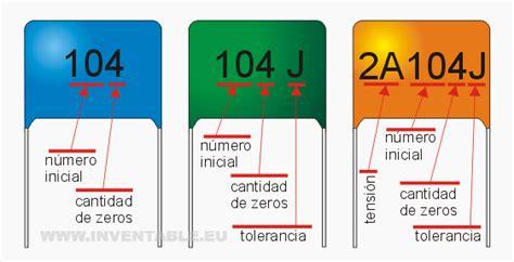 valor capacitor 104 j la web hoy leer los valores de los capacitores