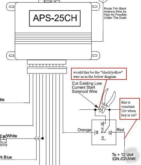 audiovox remote starter wiring diagram wiring diagram