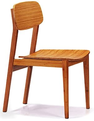bamboo dining room chairs currant chair greenington bamboo currant dining room chair