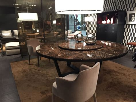 Luxurious Dining Tables Luxury Dining Table With A Shape From Marble Home Decorating Trends Homedit