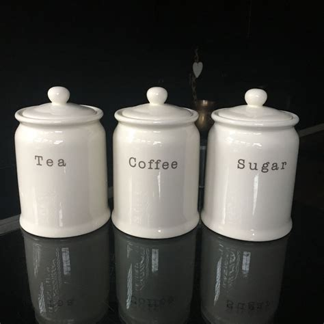 kitchen tea coffee sugar canisters ideas tea coffee sugar containers set of 3
