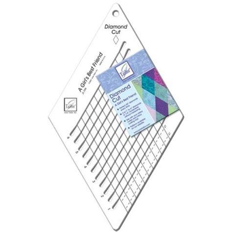june tailor diamond cut quilting ruler patchwork