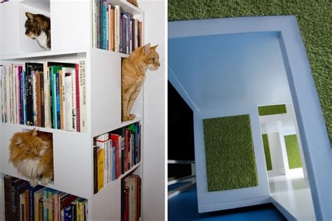 jessicarulestheuniverse bookshelves for cats