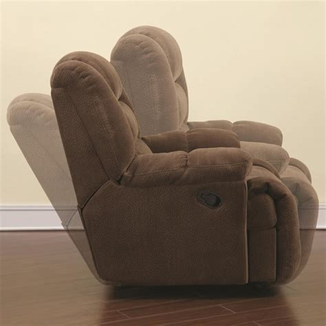 Fabric Glider Recliner With Ottoman Coaster 600340 Brown Fabric Glider Recliner A Sofa Furniture Outlet Los Angeles Ca