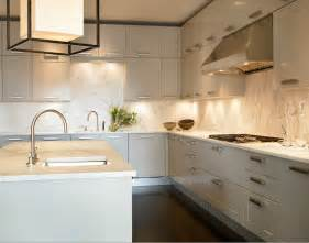 Light Grey Cabinets In Kitchen Light Gray Kitchen Cabinets Contemporary Kitchen Kara Mann Design