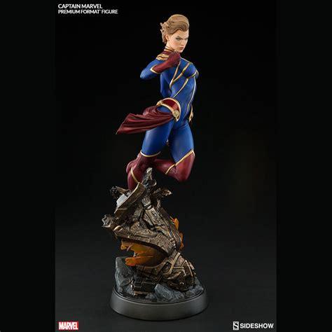 captain premium captain marvel premium format figure