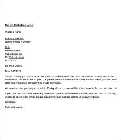collection letter format anamisat com