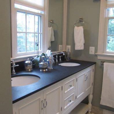 black granite countertops in bathroom traditional bathroom black granite countertop on white cabinet design pictures remodel decor