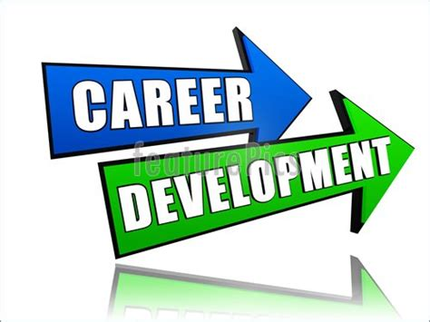 development clipart signs and info career development in arrows stock