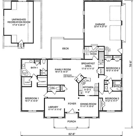 375 square feet colonial style house plan 3 beds 2 5 baths 2288 sq ft