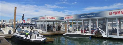 miami boat show releases miami international boat show 2016 events yamaha motor