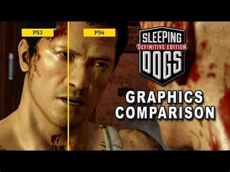 sleeping dogs ps4 сравнение графики sleeping dogs и sleeping dogs definitive edition