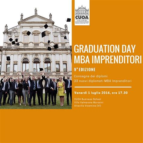 Day In The Bay Mba 2016 by Graduation Day Diploma Mba Per 33 Imprenditori