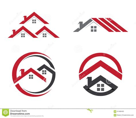 Home And Building Logo Template Stock Vector   Image: 61488463