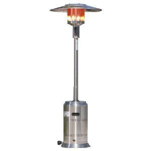 high efficiency floor standing outdoor gas patio heaters