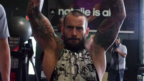 watch cm punk unveils transformed physique in ufc training