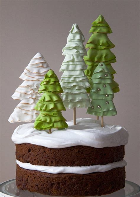 beautiful christmas cake toppers christmas celebration   christmas