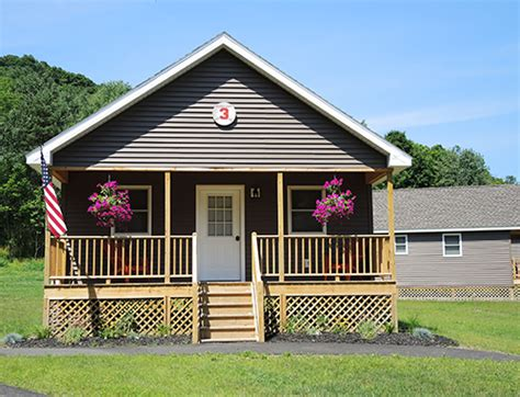 Cooperstown Cabins by Home Run Cabins Cooperstown Dreams Park Rental
