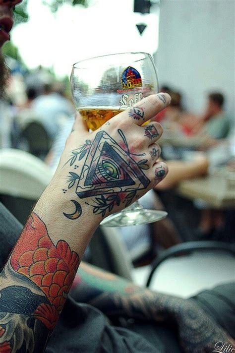 hand eye tattoo 226 best images about on