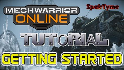 tutorial mechwarrior online mechwarrior online tutorial beginner start up guide youtube