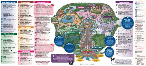 printable animal kingdom map 2015 new fantasyland on the magic kingdom guide map at disney