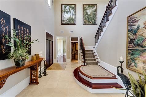 welcoming asian entry hall interior designs