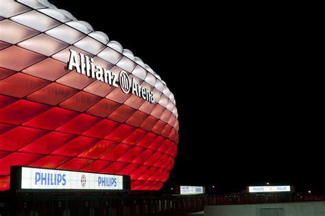 allianz arena beleuchtung dynamische philips led beleuchtung f 252 r die allianz