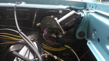 chevelle wiper motor