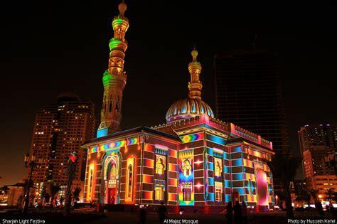 lights east sharjah light festival 2012 a photo from sharjah east