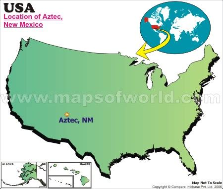 where is aztec located in new mexico, usa