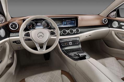 Mercedes Suv Interior Photos by 2016 Mercedes E Class Interior Revealed